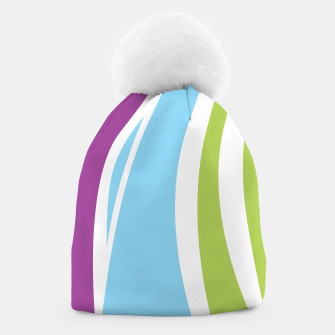 Thumbnail image of Artistic Beanie with Color stripes, Live Heroes