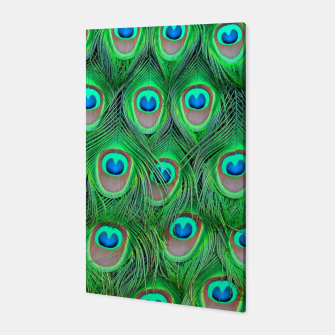Thumbnail image of Peacock camouflage Canvas, Live Heroes