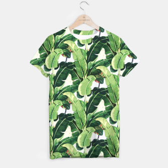 Thumbnail image of Banana leaves pattern T-shirt, Live Heroes