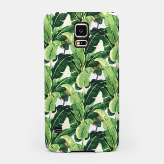 Thumbnail image of Banana leaves pattern Samsung Case, Live Heroes