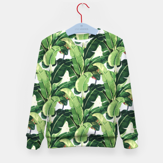 Thumbnail image of Banana leaves pattern Kid's Sweater, Live Heroes