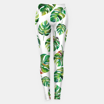 Miniature de image de Tropical leaves Leggings, Live Heroes
