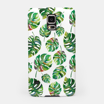 Thumbnail image of Tropical leaves Samsung Case, Live Heroes
