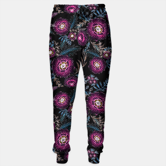 Thumbnail image of Watercolor floral pattern Sweatpants, Live Heroes