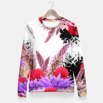 Thumbnail image of ZF - FLORAL GARDEN Fitted Waist Sweater, Live Heroes