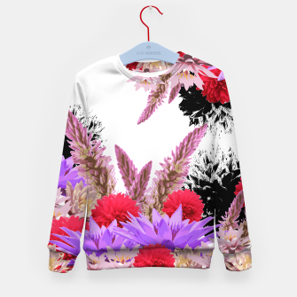 Thumbnail image of ZF - FLORAL GARDEN Kid's Sweater, Live Heroes
