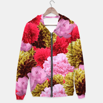 Miniaturka ZF - FLORAL COLLAGE Hoodie, Live Heroes