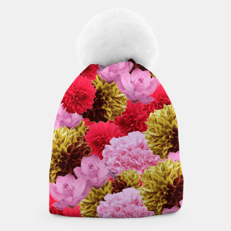 Thumbnail image of ZF - FLORAL COLLAGE Beanie, Live Heroes