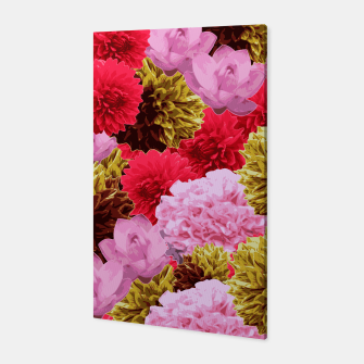 Thumbnail image of ZF - FLORAL COLLAGE Canvas, Live Heroes