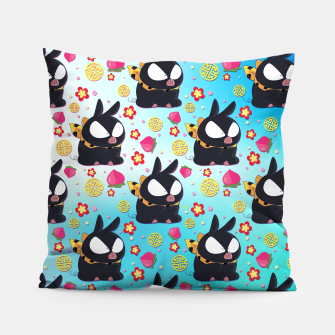 Thumbnail image of Pchan Pattern Pillow, Live Heroes