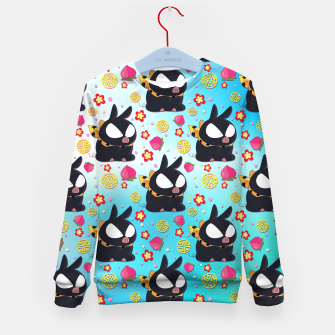 Thumbnail image of Pchan Pattern Kid's Sweater, Live Heroes