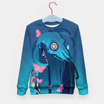 Thumbnail image of The Wizard's Dream Kid's Sweater, Live Heroes