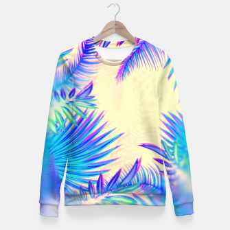 Miniature de image de Tropical Fitted Waist Sweater, Live Heroes