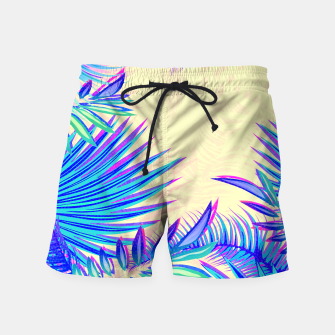 Miniatur Tropical Swim Shorts, Live Heroes