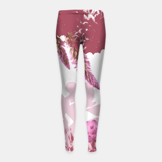 Thumbnail image of BLOOM Girl's Leggings, Live Heroes