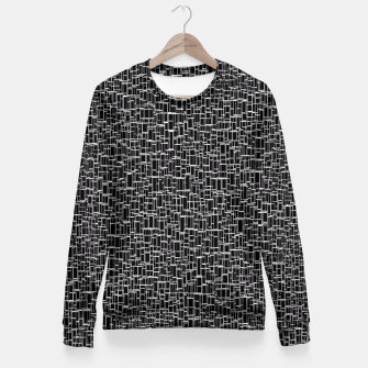 Thumbnail image of Black & White 4 Fitted Waist Sweater, Live Heroes