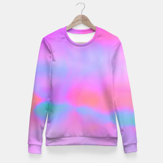 Thumbnail image of pink dreams Fitted Waist Sweater, Live Heroes