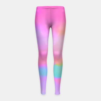 Thumbnail image of pink dreams Girl's Leggings, Live Heroes