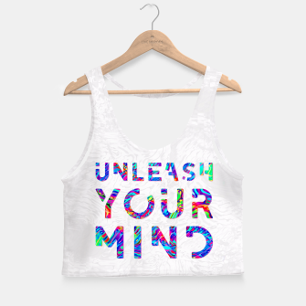 Miniature de image de Unleash Your Mind Crop Top, Live Heroes