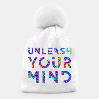 Thumbnail image of Unleash Your Mind Beanie, Live Heroes