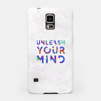Thumbnail image of Unleash Your Mind Samsung Case, Live Heroes