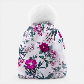 Thumbnail image of White Spring Beanie, Live Heroes