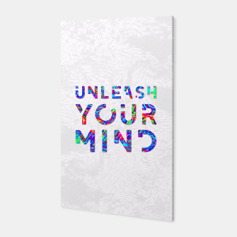 Thumbnail image of Unleash Your Mind Canvas, Live Heroes