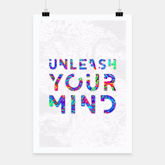 Thumbnail image of Unleash Your Mind Poster, Live Heroes