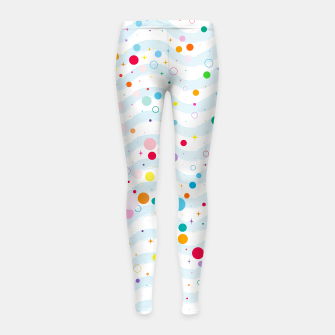 Thumbnail image of Waves - Girl's Leggings, Live Heroes