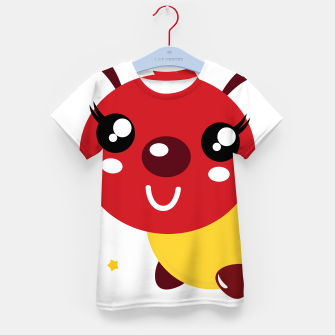 Thumbnail image of Oh, so nice! Creative Kids t-shirt with BIG RED WORM, Live Heroes