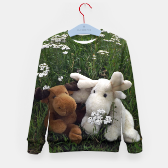 Thumbnail image of being together Kid's Sweater, Live Heroes