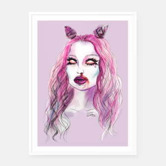 Thumbnail image of Cotton Candy2 Framed poster, Live Heroes
