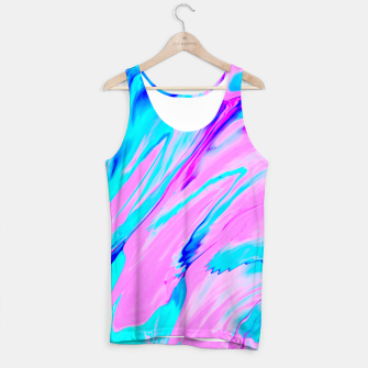 Thumbnail image of Pink-Blue Liquid Tank Top, Live Heroes