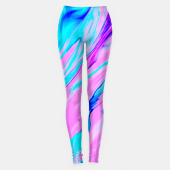 Miniature de image de Pink-Blue Liquid Leggings, Live Heroes
