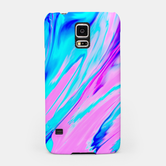 Thumbnail image of Pink-Blue Liquid Samsung Case, Live Heroes