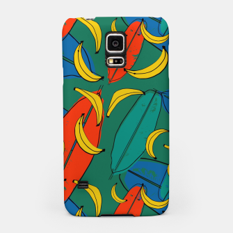Thumbnail image of banana leaf  Samsung Case, Live Heroes