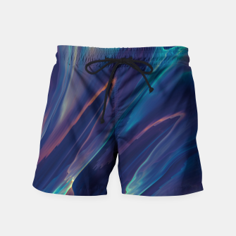 Thumbnail image of Purple Liquid Swim Shorts, Live Heroes