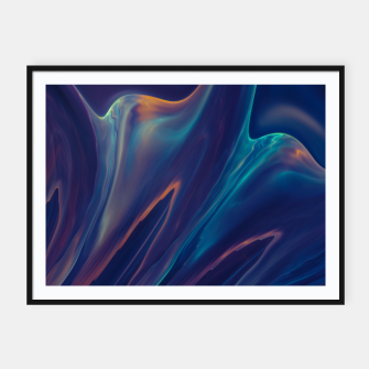 Thumbnail image of Purple Liquid Framed poster, Live Heroes