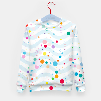 Thumbnail image of Waves1 - Kid's Sweater Unisex, Live Heroes