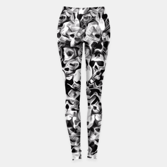 Thumbnail image of Skulls Abstraction Attraction 3 Leggings, Live Heroes