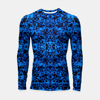 Thumbnail image of Skulls Abstraction Attraction 5 Longsleeve Rashguard , Live Heroes