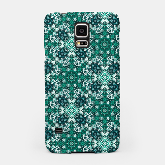 Thumbnail image of Bohemian Aqua Green Fancy Pattern Samsung Case, Live Heroes