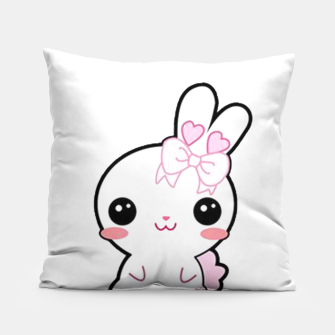 Thumbnail image of Little bunny kawaii Pillow, Live Heroes