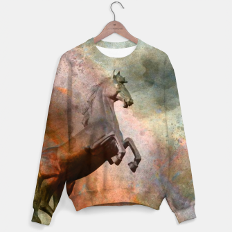 Thumbnail image of the golden horse Sweater, Live Heroes