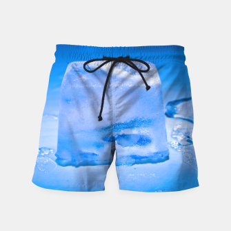 Thumbnail image of Ice Blue Swim Shorts, Live Heroes