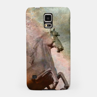 Thumbnail image of the golden horse Samsung Case, Live Heroes