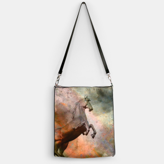 Thumbnail image of the golden horse Handbag, Live Heroes