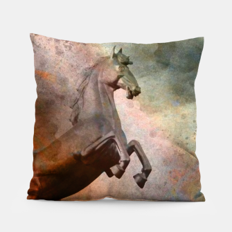 the golden horse Pillow thumbnail image