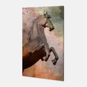 Thumbnail image of the golden horse Canvas, Live Heroes