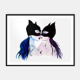 Thumbnail image of Cats Framed poster, Live Heroes